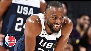 Kemba, Jayson Tatum lead Team USA Blue Team to win in scrimmage | FIBA World Cup Highlights