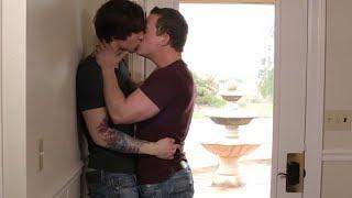 My hot neighbor is gay :D | gay kiss