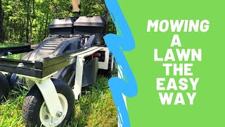 The Lazy Man's Mower | RC Lawn Mower 2.0