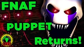 FNAF's PUPPET Returns?!? - Those Nights at Rachel's (Part 2 of 2)