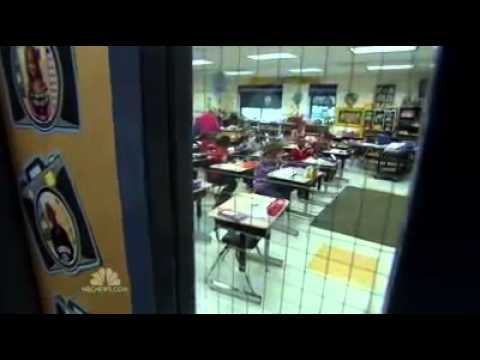 CUSTODIANS AND TEACHERS LEARN TO GET ARMED! - 1/12/13 - NEWS REPORT