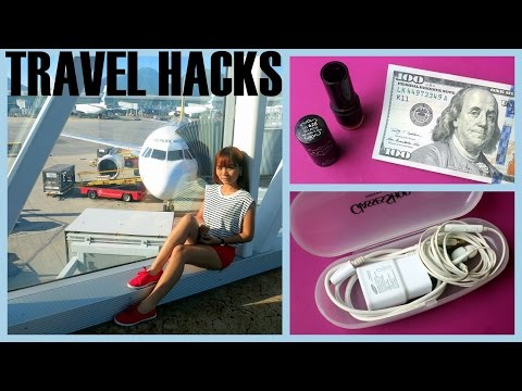 Travel Hacks Tips and Tricks when Traveling ✈