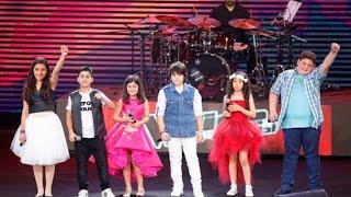 """فريق ذا فويس كيدز  اغنية النهاية حفلة """"ذي فويس كيدز"""" لبنان"""