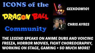 Chris Ayres the VOICE OF FRIEZA INTERVIEW