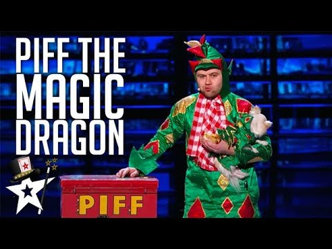 Piff the Magic Dragon on America s Got Talent Magicians Got Talent