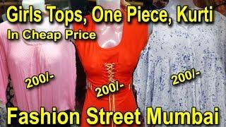 Girls Kurti Westurn Dresses Tops In Reasonable Price | Fashion Street Mumbai | Go Girls....