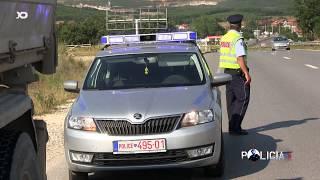 Policia e Kosoves: Kontrolli i Vozitjeve te Rrezikshme