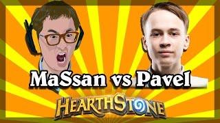 Hearthstone - MaSsan vs Pavel (Hearthstone World Champion)