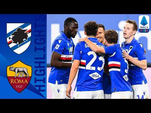 Sampdoria 2 0 Roma Silva and Jankto Secure 3 Points Serie A TIM
