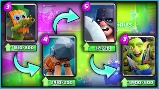 ALL NEW CARDS GAMEPLAY! • Clash Royale! •