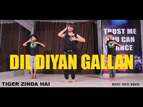 Xxx Mp4 Dil Diyan Gallan Dance Choreography Lyrical Tiger Zinda Hai Vicky Patel 3gp Sex