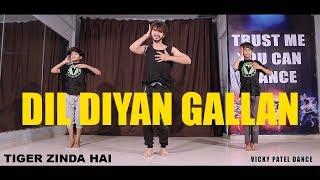 Dil Diyan Gallan Dance Choreography | Lyrical | Tiger Zinda Hai | Vicky Patel