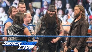 """""""The Cutting Edge"""" returns to turn Survivor Series on its head: SmackDown LIVE, Nov. 15, 2016"""