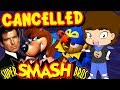 CANCELLED Characters in Super Smash Bros. - ConnerTheWaffle