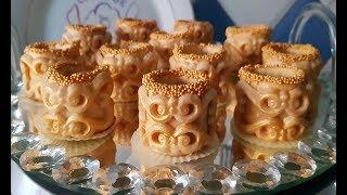 حلوة الإسوارة جدييد حلويات اللوز بشكل راقي و مميز مع عرض لجميع مراحل التحضير