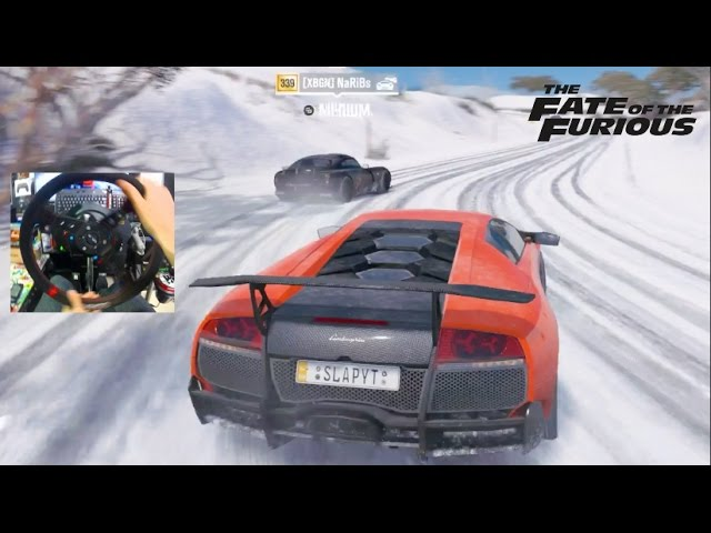 Forza Horizon 3 GoPro Fate Of The Furious Recreation / BLIZZARD MOUNTAIN!