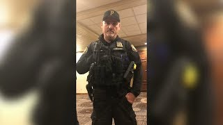 Hotel guest evicted from DoubleTree for talking on phone in lobby
