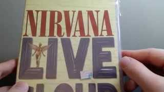 Nirvana: Live & Loud DVD Unboxing