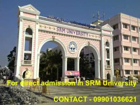 Admission in SRM University @09901036621 through management quota 2015 - Fee Structure