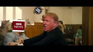 Spoof video of president in 'Church of Fake News' goes viral