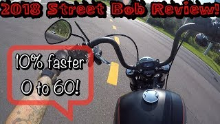 2018 Harley Davidson Street Bob full and detailed review