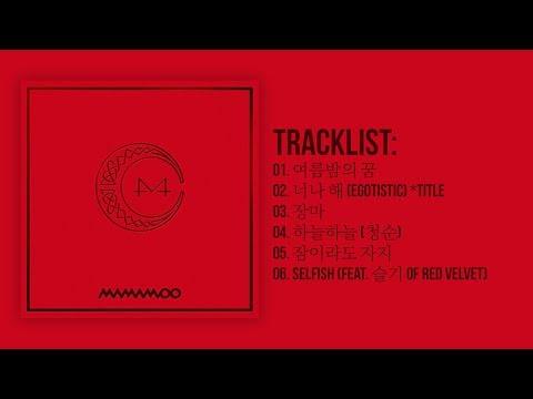 [Full Album] 마마무(MAMAMOO) - Red Moon
