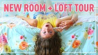 NEW Room + Loft Tour 2017 | Kamri Noel