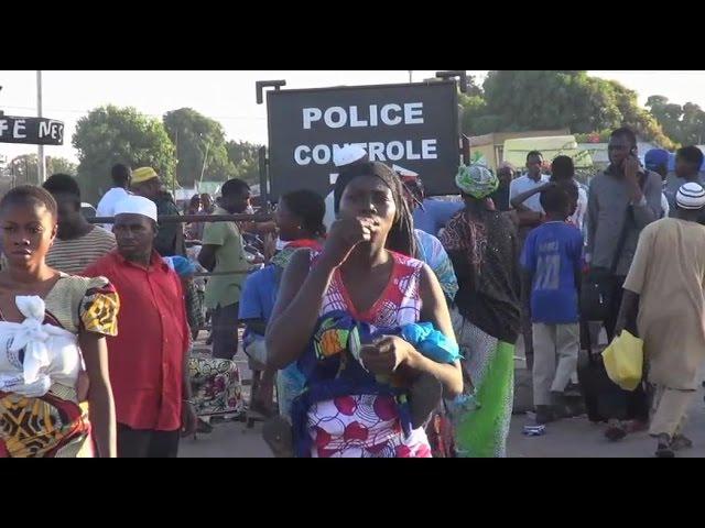 Crise en Gambie: Flux massifs des populations à Karang vers l'intérieur du Senegal