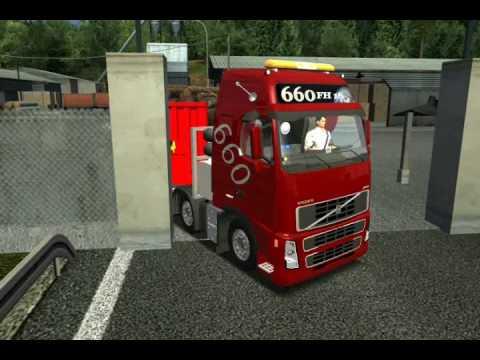 German Truck Simulator 2010 Volvo FH16 660 8x4 Part 1