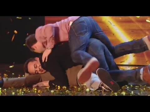 TOP 5 Can t Stop Laughing COMEDIANS Britain s Got Talent
