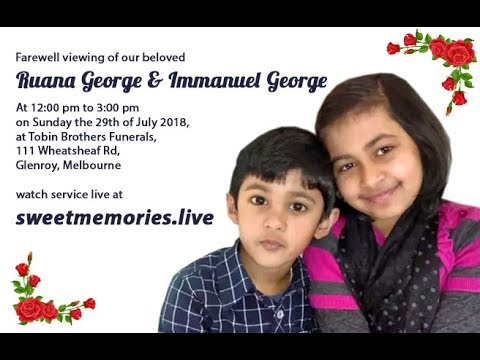 Xxx Mp4 PART 1 Farewell Viewing Of Ruana And Immanuel Melbourne 29 July 2018 3gp Sex