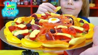 Sweeties! Candy Pizza, Fizzy Spider and fun making Popcorn