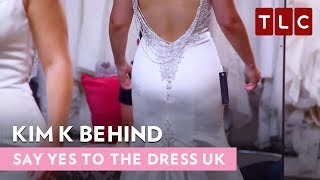 Kim K Behind | Say Yes to the Dress UK | Bride Day Friday