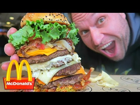 watch McDonald's Most Expensive Burger!