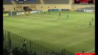 عمرو مرعي يسجل هدف إنبي الثاني في مرمى طنطا