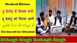 Bhai Dilbagh Singh Gulbagh Singh - Tu beant koi virla jane
