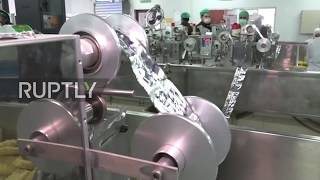 Syria: Ghouta pasta factory reaches full capacity for first time since war
