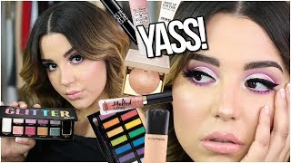 FULL FACE FIRST IMPRESSIONS MAKEUP TUTORIAL ! | TESTING OUT HOT NEW BEAUTY PRODUCTS!