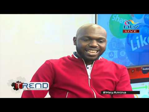 Xxx Mp4 Larry Madowo Makes A Comeback On TheTrend 3gp Sex