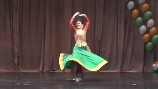Kavita Mala by Yulya Kardashova. Chakkar dance group. Kathak