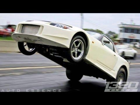 TX2K12 - 8 Second 2JZ S2000 Giant Wheelie!