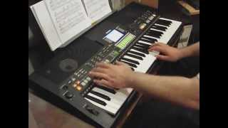 Can't Help Falling In Love With You on Yamaha PSR S550
