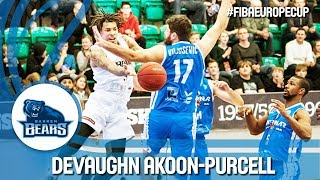 DeVaughn Akoon-Purcell (25pts 9reb 8ast & 2stl) earns a hard fought victory over Mornar Bar!