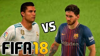 Real Madrid vs Barcelona   FIFA 18 - Santiago Bernabéu