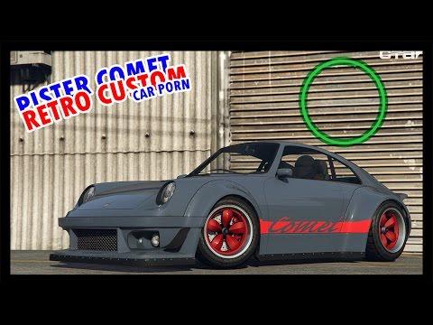Pfister Comet Retro Custom | Car Porn | Snickii
