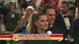 Tom Brady Calls Time Out On Divorce Speculation | Gisele Bundchen