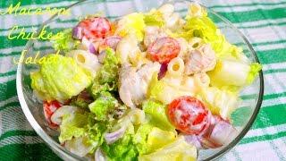 How to prepare Macaroni Chicken Salad | Pasta Salad Recipe | Healthy & Tasty