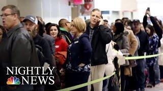 TSA Callouts Reach Record High As Government Shutdown Hits 31st Day | NBC Nightly News