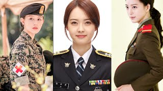 9 Beautiful Korean Celebrities In Uniform-clad