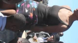 Mourners twerk nude at EFF funeral
